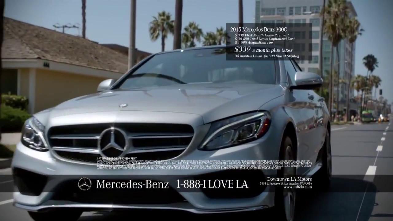 Mercedes benz tv commercial