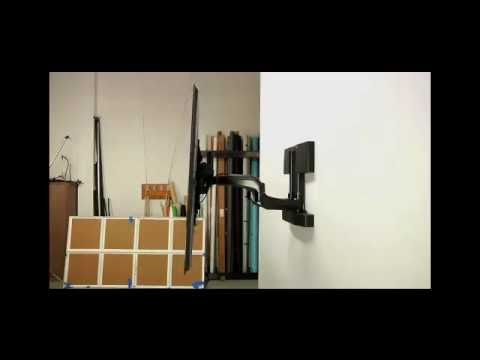 25 Pxru Automated Swing Arm Tv Wall Mount Installation