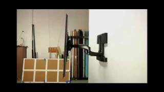 25-PXRU Automated Swing Arm TV Wall Mount Installation Video