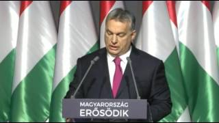 Orbán Viktor 2017 Évértékelő beszéd