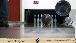 Brunswick C(System)3.5 bowling ball reaction video