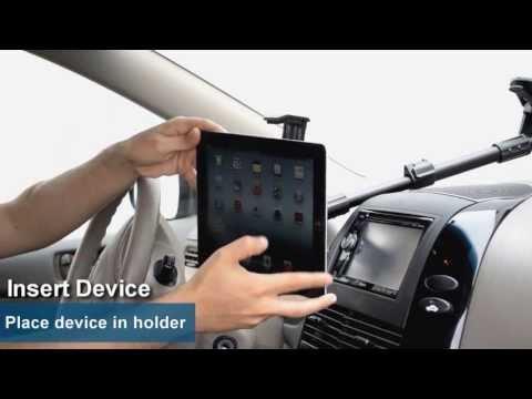 IPad Air IPad 3 IPad 2 Extending Windshield Car Mount For Apple IPad   Arkon TABPB117