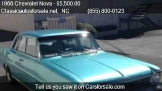 1966 Chevrolet Nova  for sale in Nationwide, NC 27603 at Cla #VNclassics