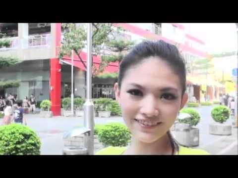 臺灣今天我最美:模特兒劉宇晴(地點:臺北市威秀影城) - YouTube