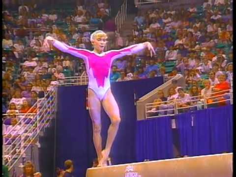 Shannon Miller  Balance Beam  1993 U.S. Gymnastics Championships  Women  All Around