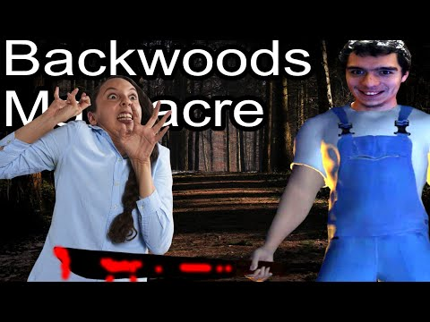 I'm Going To KILL YOU!   Backwoods Massacre Indie Game