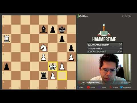 Exploring Leela Chess Zero with GM Hammer