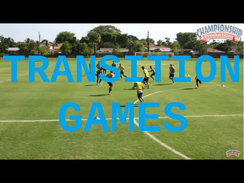 Small-Sided Transition Games Progressing To Goal