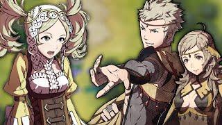 Fire Emblem Fates - Odin & Ophelia meet Lissa (DLC Conversation)