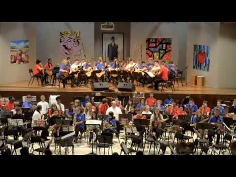 Orquesta HARINGEY YOUNG MUSICIANS en concierto 2015. Part 1