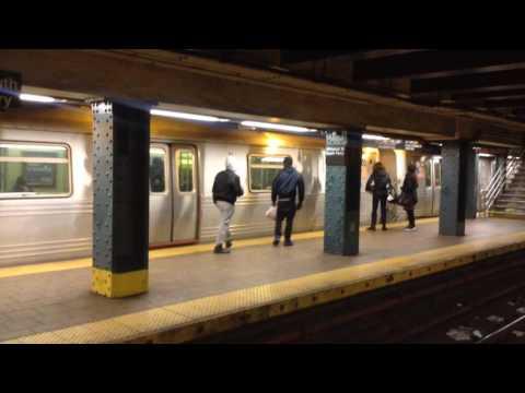 BMT Broadway Line: Brooklyn & Queens Bound R46 & R160 (R) Train @ Whitehall Street-South Ferry