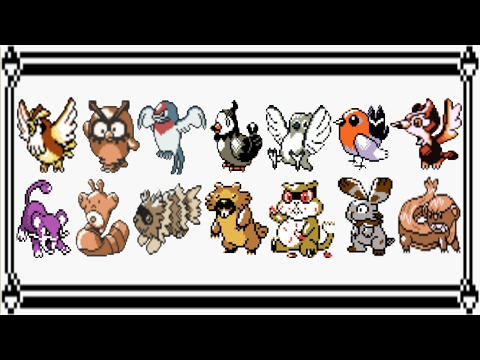 Pokémon   (8 Bit) All Wild Battle Themes