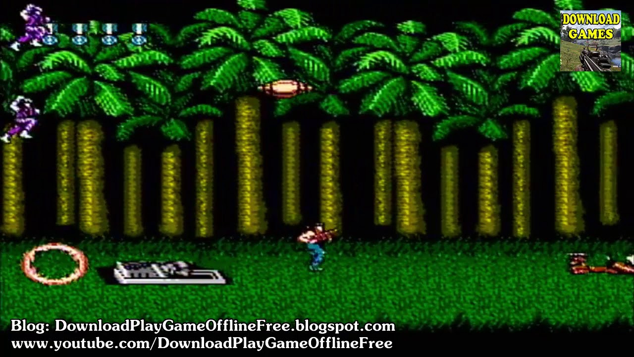 Download & Play game Super Contra Nitendo nes on pc