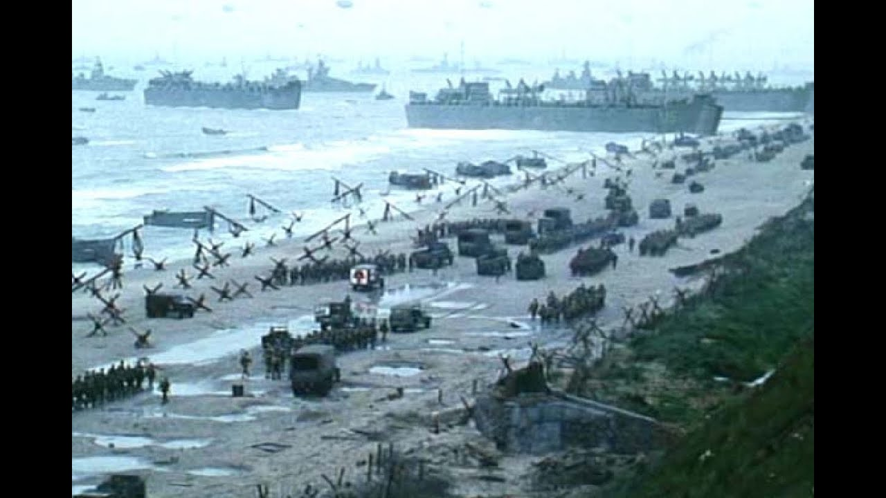 D Day In Color D Day Landings In Colo...