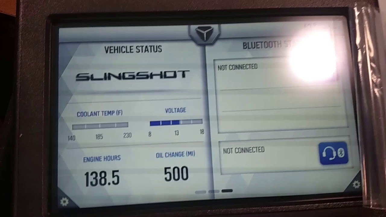 Ride Command install on 2015-17 slingshots done! - Slingshot General