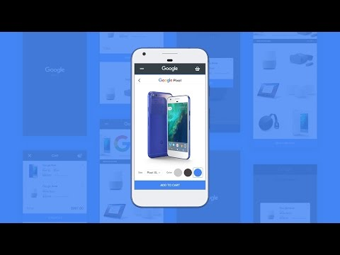 Mobile Web Design - Ecommerce Site | Google Store - in Adobe Xd