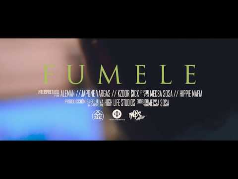 Alemán - FUMELE ft Wax Gvng [ Prod. Hippie Mvfia & Mecsa Sosa ]