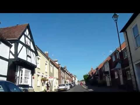 A DRIVE THROUGH NEWENT TOWN IN GLOUCESTERSHIRE