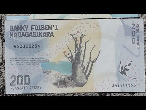 Madagascar Currency || Malagasy Ariary