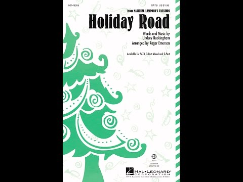 Holiday Road (SATB) - Arranged by Roger Emerson