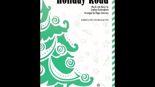 Holiday Road (SATB Choir) - Arranged by Roger Emerson