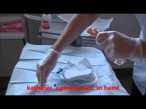 3 Verwijderen En Plaatsen Verblijfskatheterisatie Vrouw En Steriele Staalopname Urine