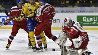 Česko - Švédsko 2:7 EURO HOCKEY TOUR 2015/2016