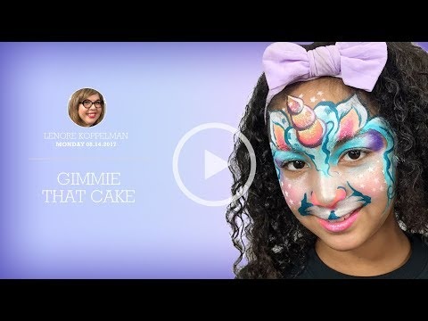 Learn how to face paint -Lenore Coppelman - Gimmie That Cake