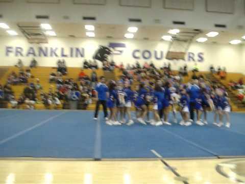 Benito Martinez Elementary School cheerleading Competition