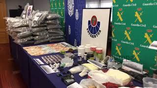 32 detenidos de una banda que traficaba con droga