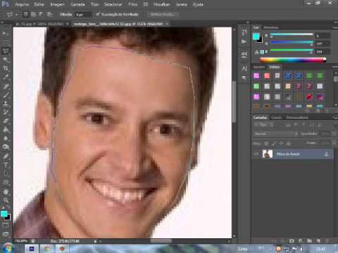 Tutorial - Como cortar fotos no Photoshop CS6 from YouTube · Duration:  5 minutes 43 seconds