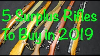 5 Surplus Rifles to Buy - 2019