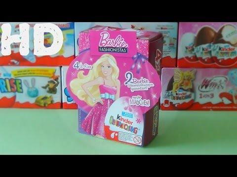 Киндер сюрприз Барби звезда моды ретро 2012 коллекция
