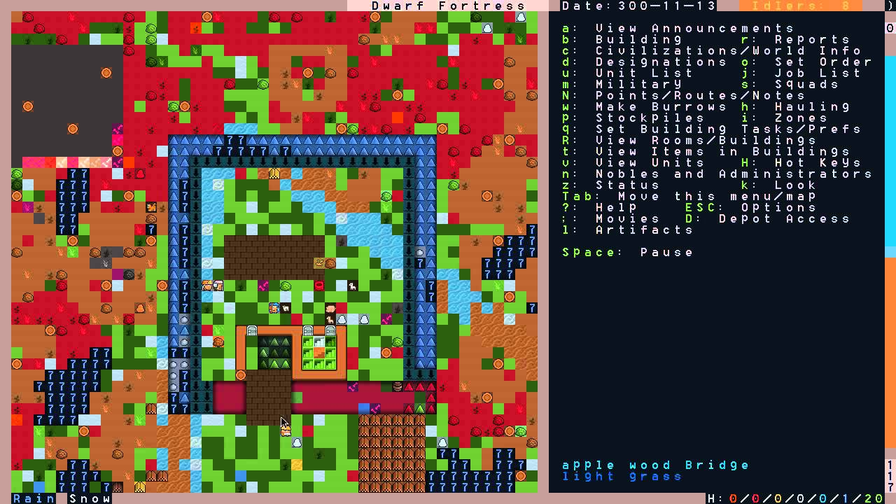 Dwarf Fortress For New Players Moats Mechanics And - Dwarf fortress bedroom design