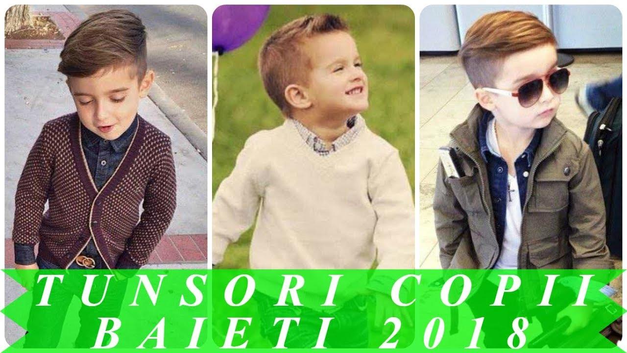 Modele De Tunsori Copii Baieti 2018 Youtube