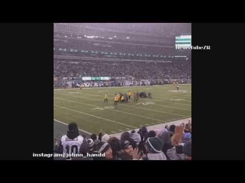 Streakers run onto field during Jets vs Colts Game  12/5/2016 narrated by Kevin Harlan