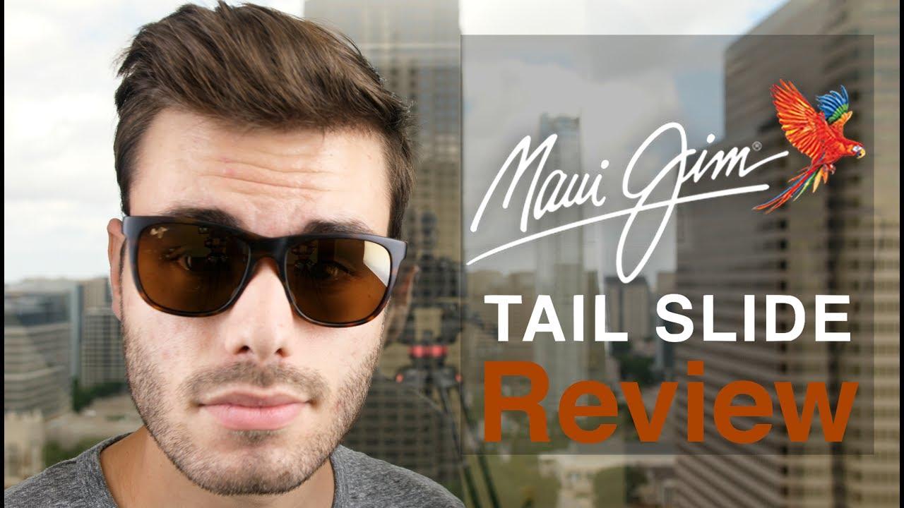ecbb3f5d2f9c Maui Jim Tail Slide Review - YouTube