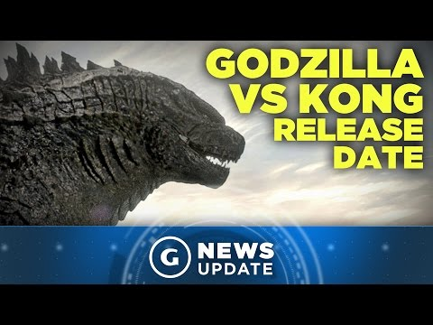 Godzilla vs. Kong Given Release Date, Godzilla 2 Moves to 2019 - GS News Update