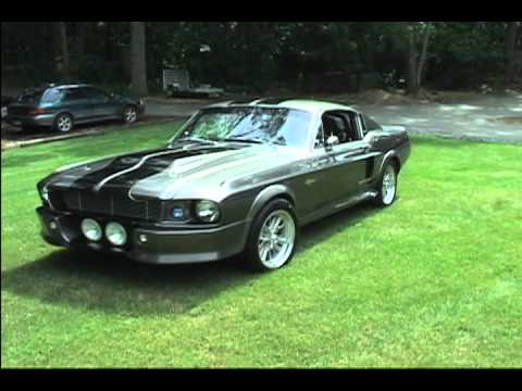 "1967 Shelby Gt500 Eleanor >> FOR SALE: 1967 Mustang ""Eleanor"" GT-500 Replica - YouTube"