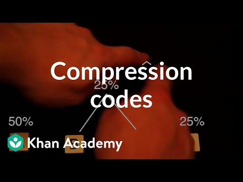 Compression codes   Journey into information theory   Computer Science   Khan Academy