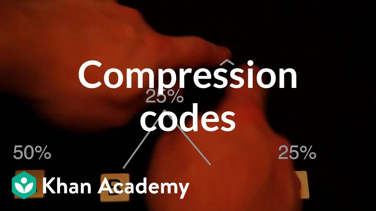 Compression codes (video) | Khan Academy