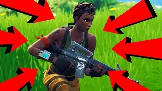 I FOUND SOMEONE WORSE THAN ME...a bot? haha | Fortnite