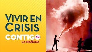 REPORTAJE: Así es vivir en medio de protestas en Plaza Italia - Crisis en Chile