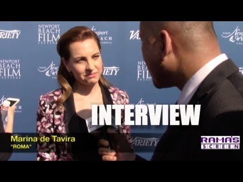My Interview With Marina De Tavira About Alfonso Cuarón's 'roma'