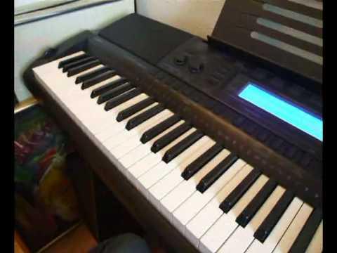 Casio WK-500 demo tune1