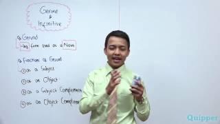 Quipper Video - Bahasa Inggris Kelas 12 - Gerund & Infinitive