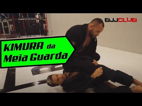 🆕 Finalização de Kimura partindo da Meia Guarda  🏼👉 Jiu Jitsu - BJJCLUB