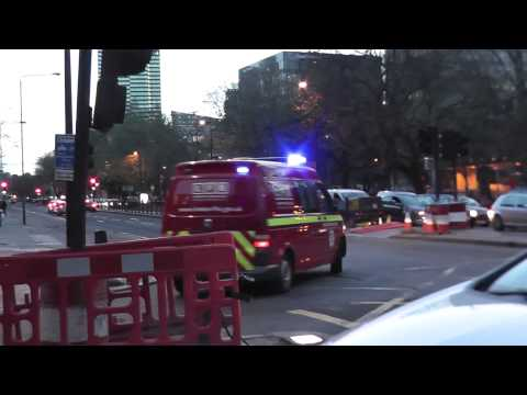 London Fire Investigation Unit to an emergency call