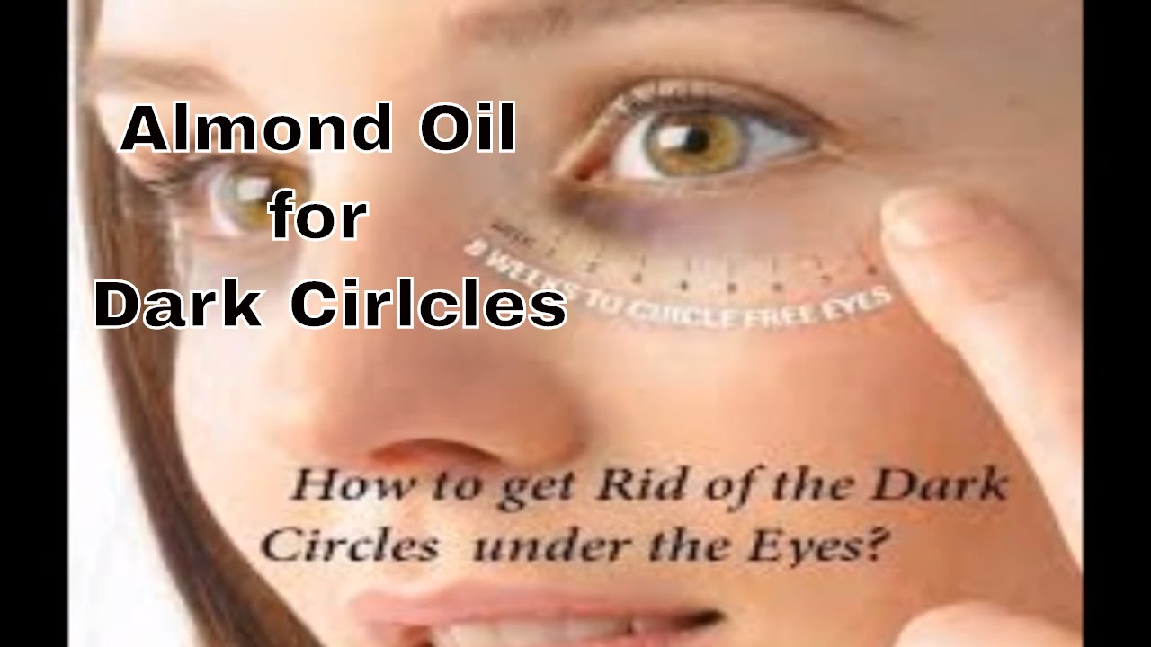 How To Get Rid Of Dark Circles Almond Oil Giveaway Closed Youtube