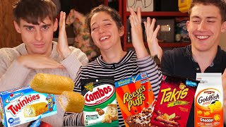 British People Try Twinkies for the First Time!!